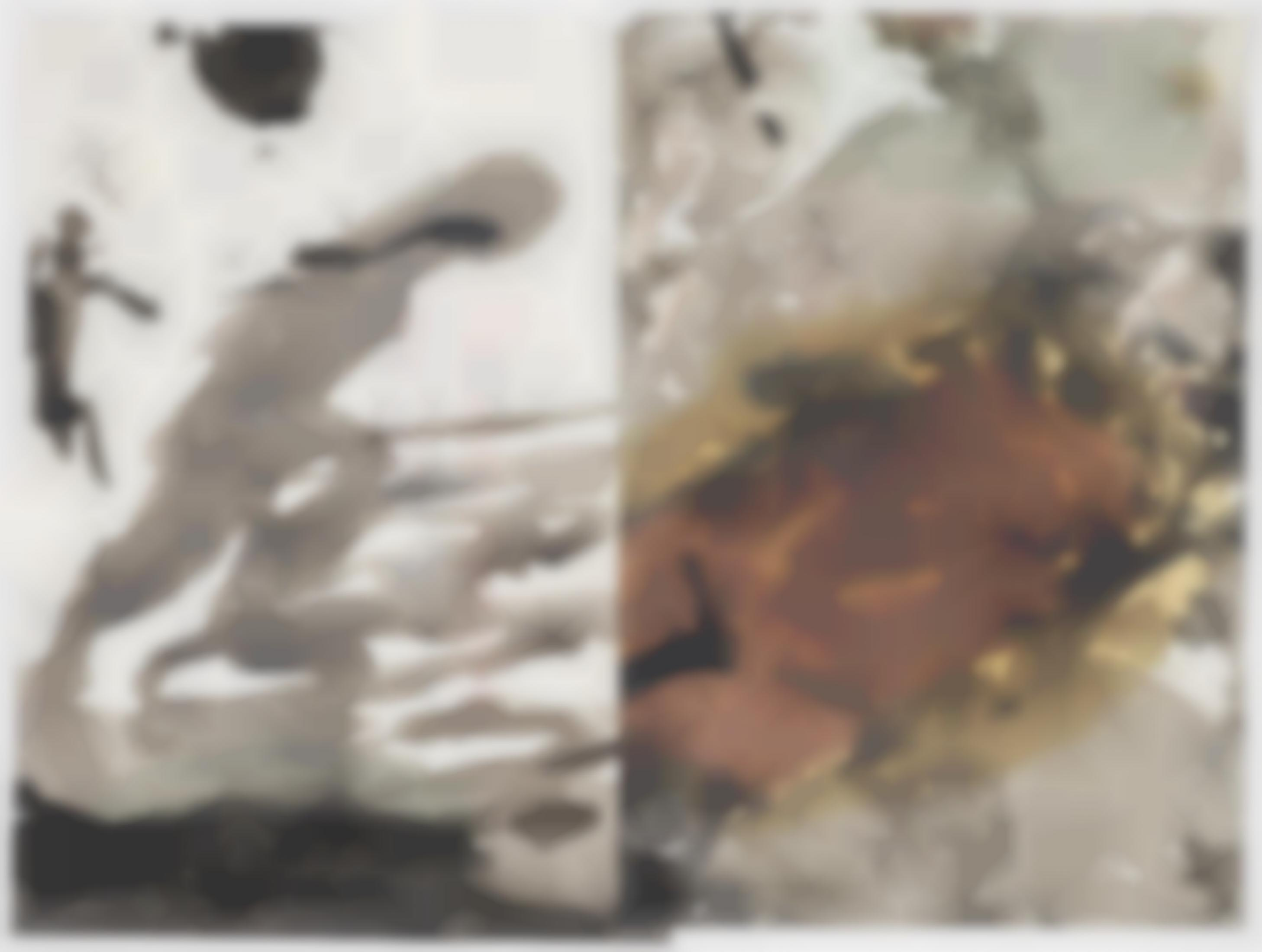 Felix Droese - 2 Blatt. Ohne Titel (2 sheets. Untitled)-1989