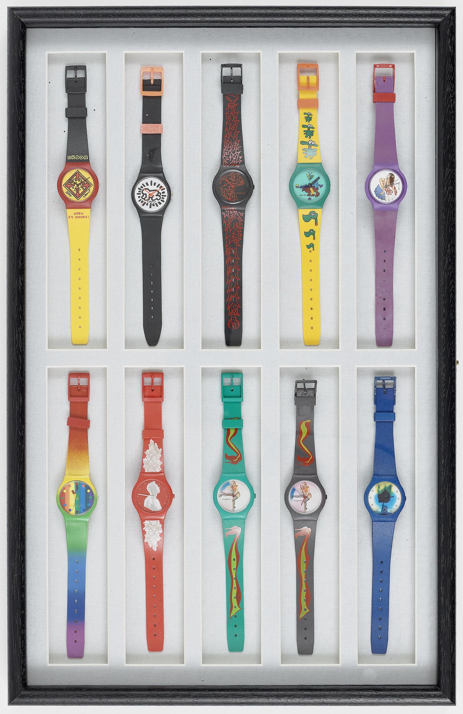 20 artists wristwatches Switzerland, 1990-1992-