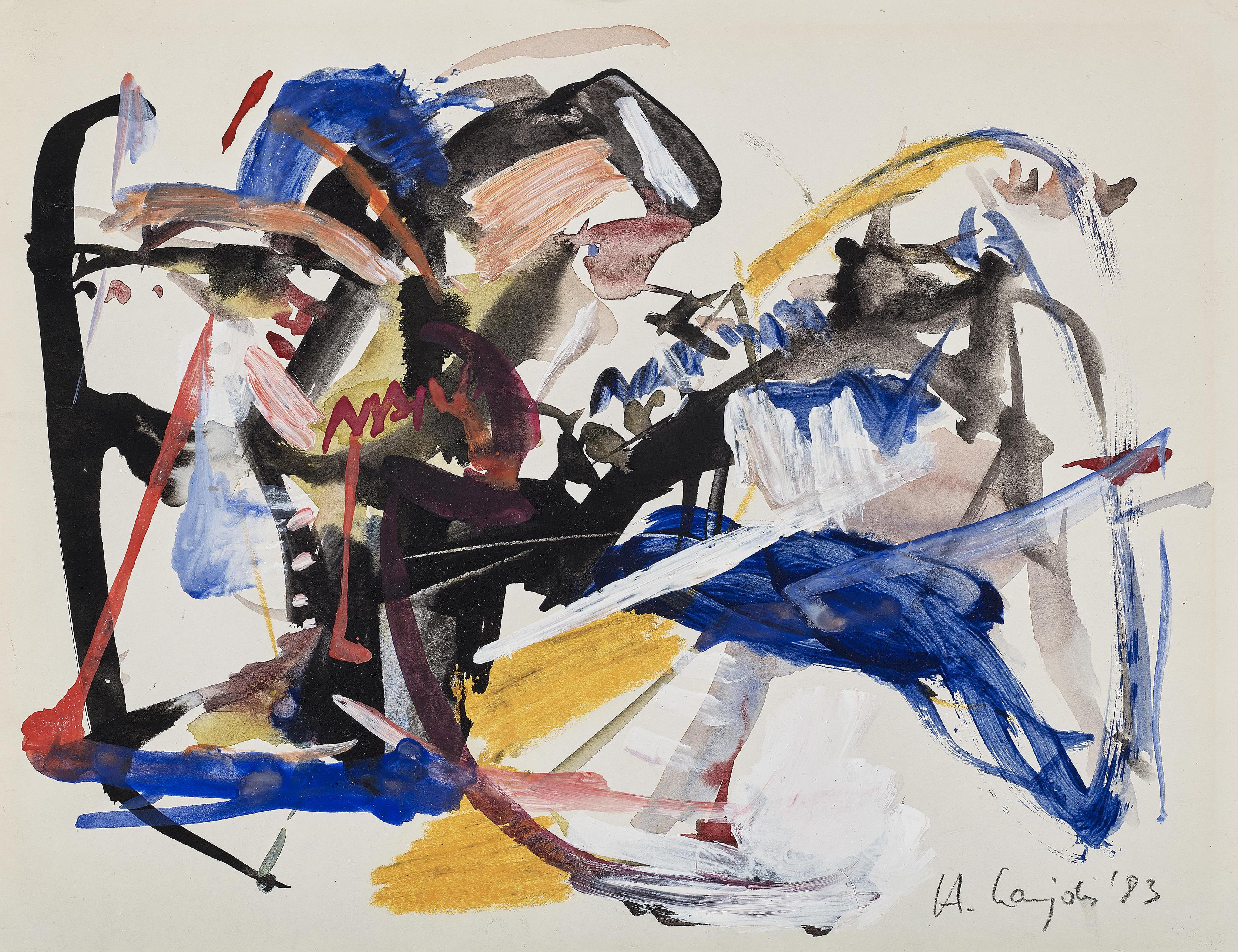 Heino Naujoks - Ohne Titel (Untitled)-1983