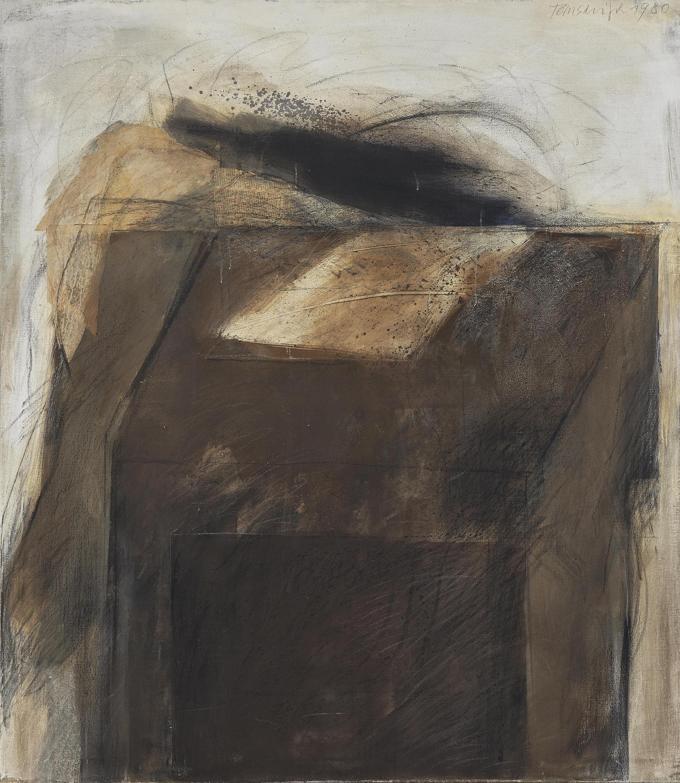 Peter Tomschiczek - Tischbild-1980
