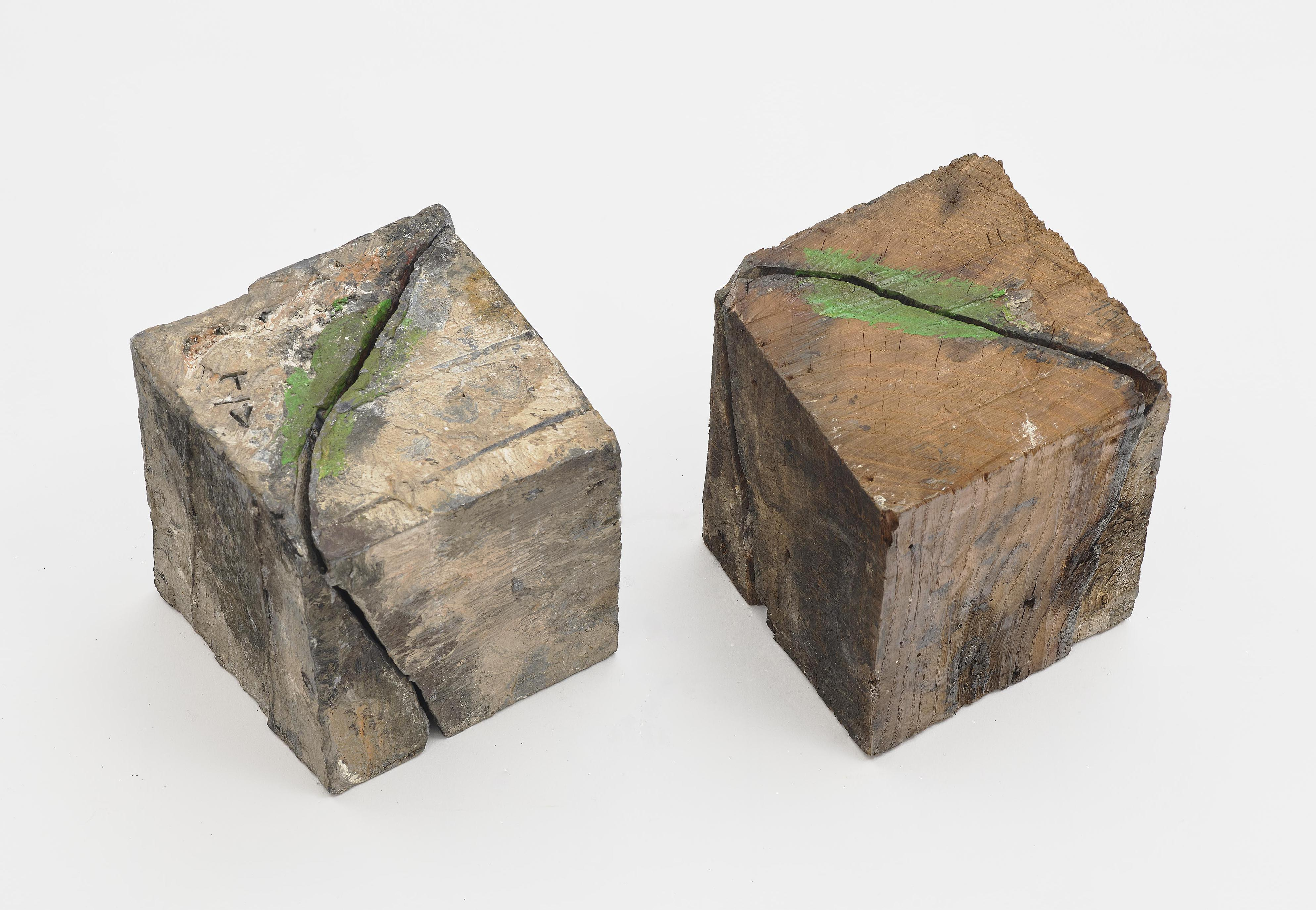 Thomas Virnich - Ohne Titel (Doppelblock) / Untitled (Double Block)-1988