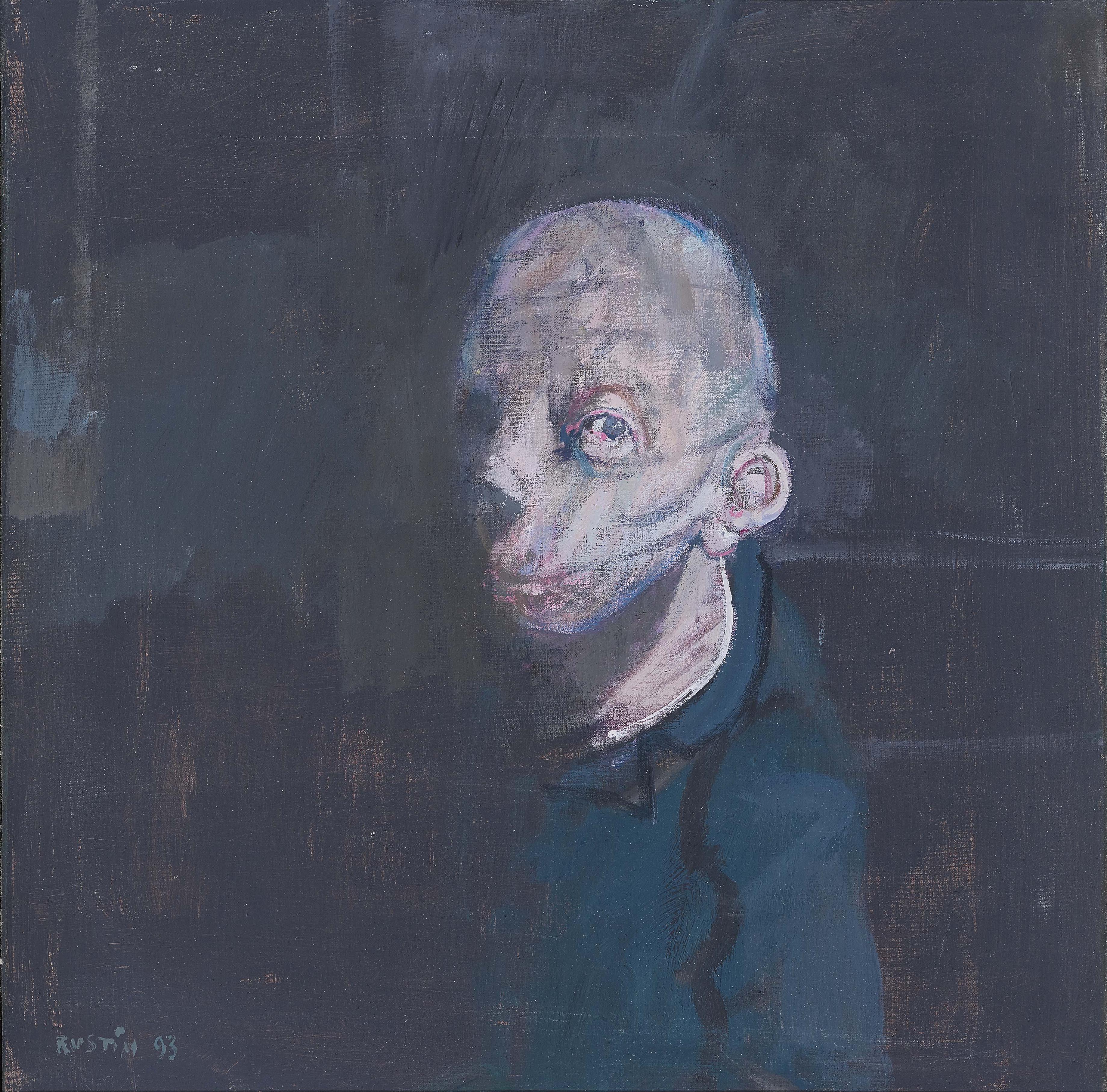 Jean Rustin - (Selbst-) Portrat-1993