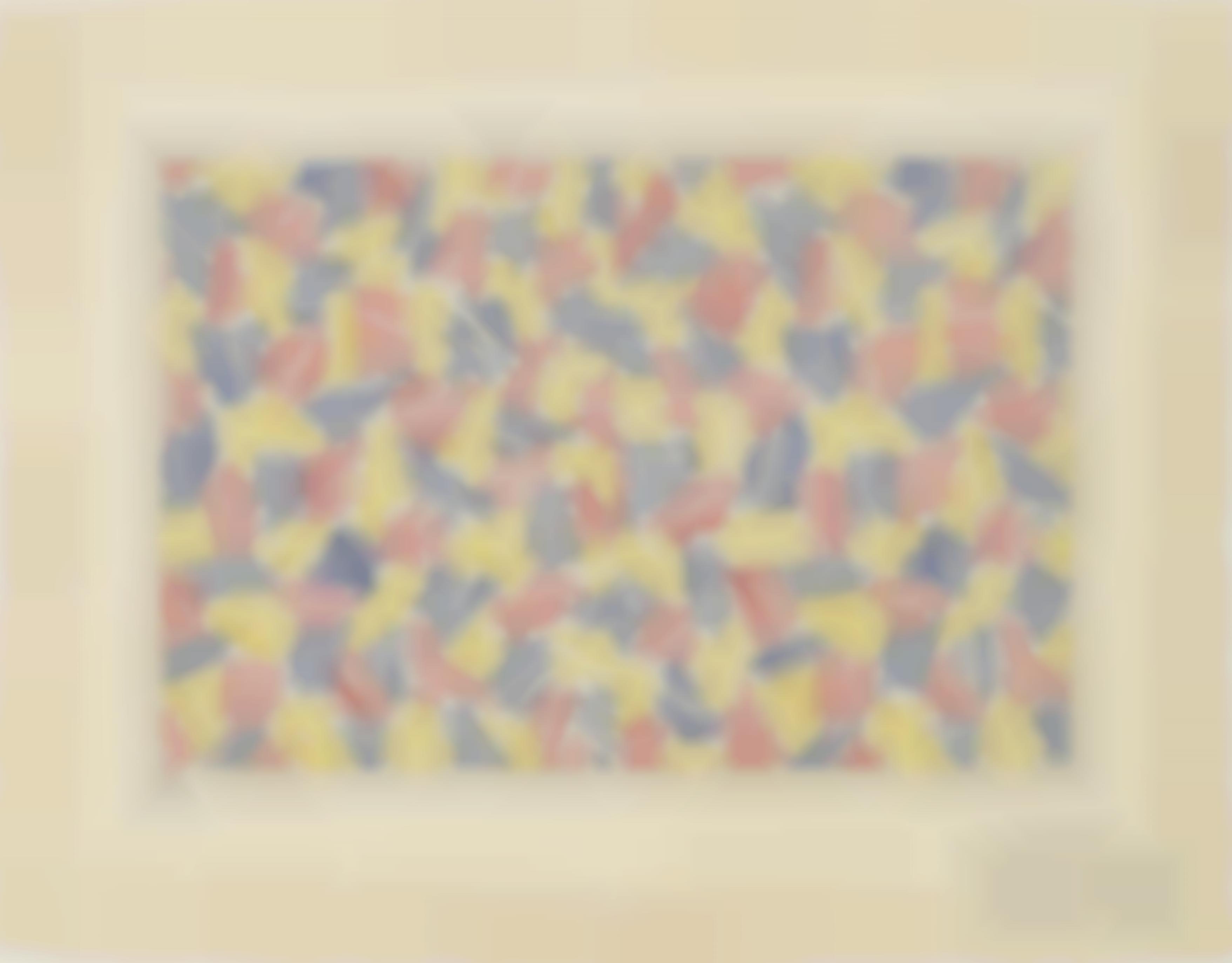 Jasper Johns-Untitled I-1976