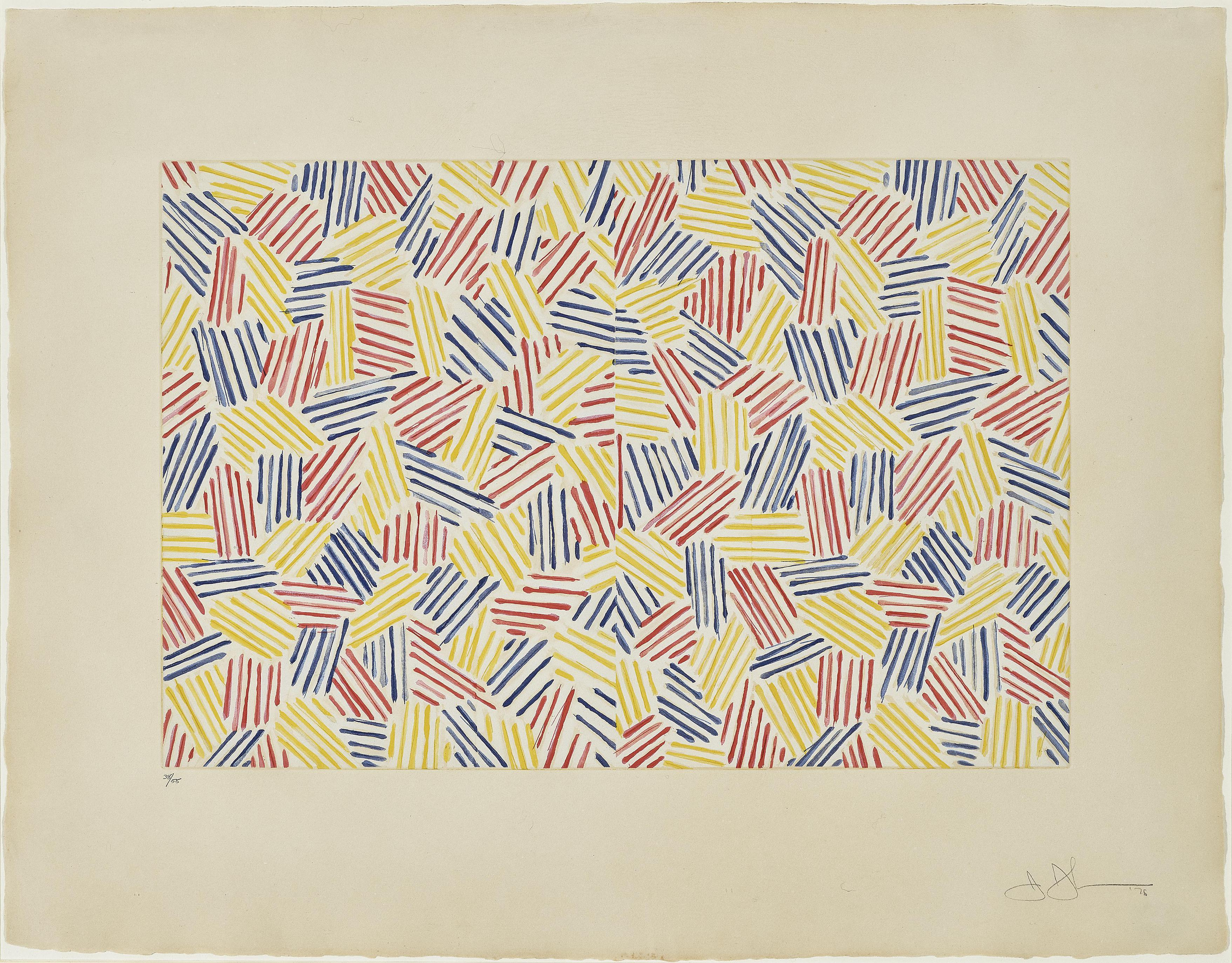 Jasper Johns-Untitled I-1976