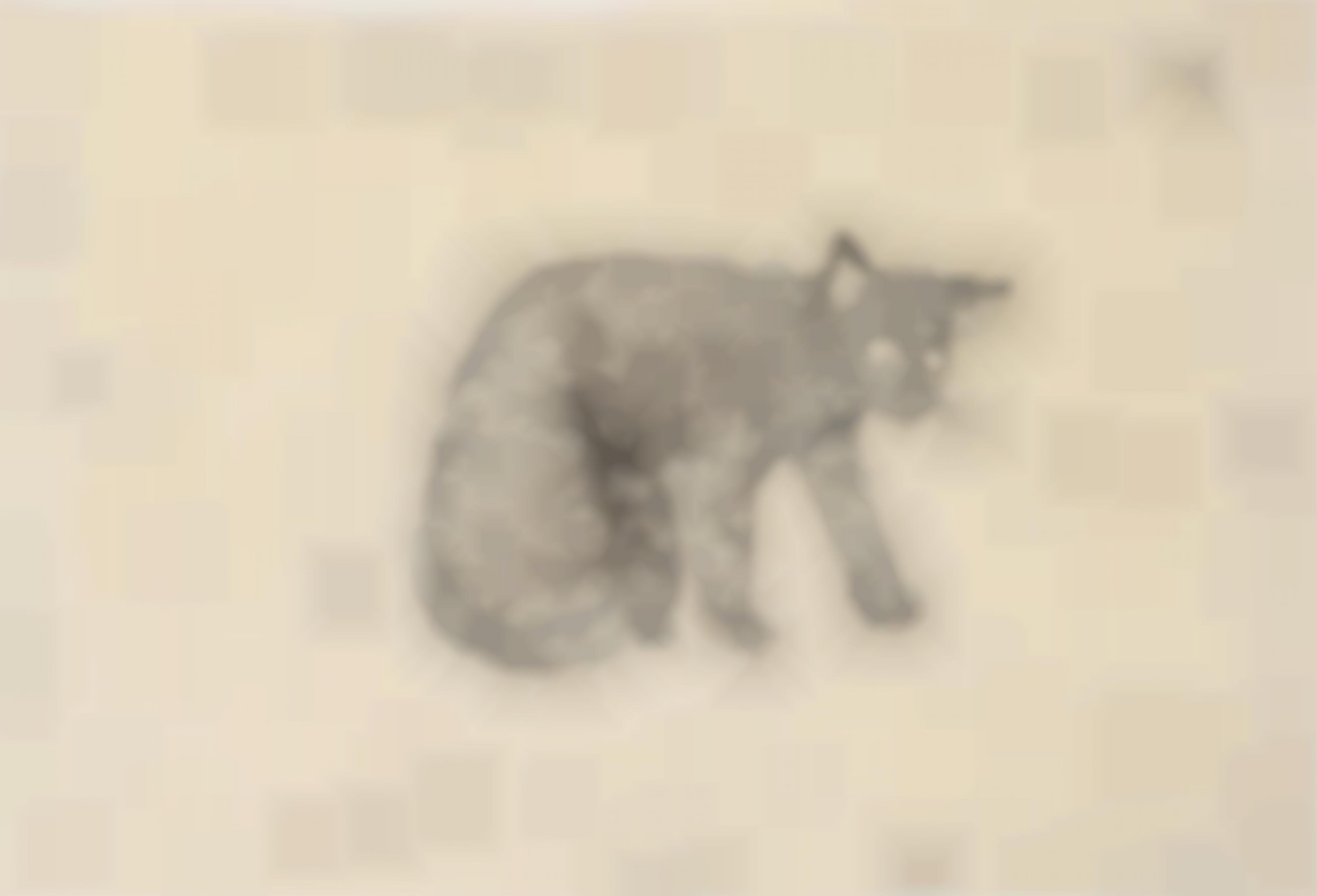Kiki Smith-European Wild Cat-1998
