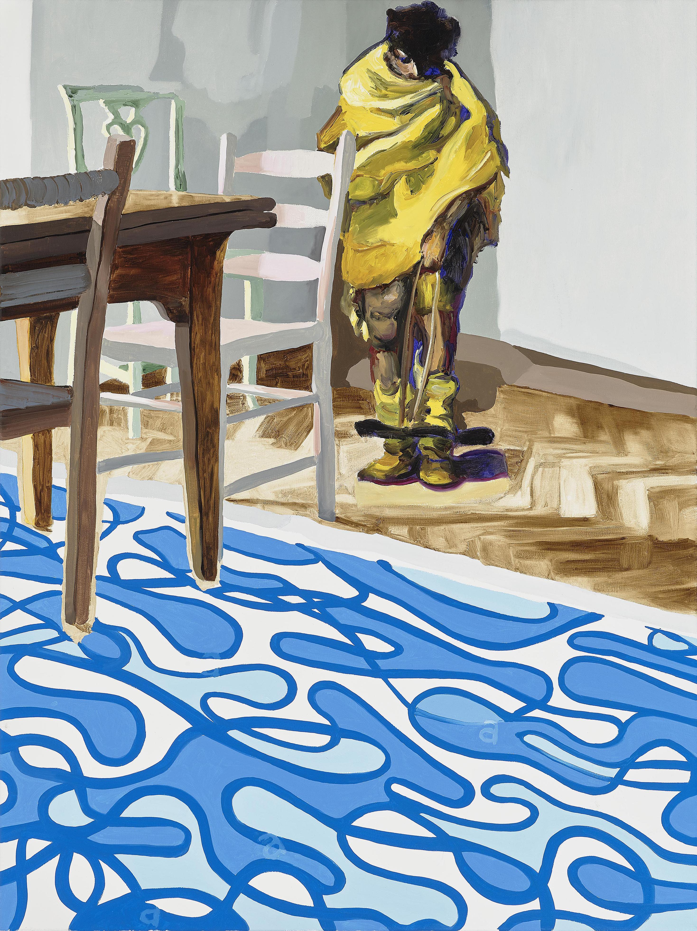 Sebastian Maas - Hinter Dem Stuhl (Behind the Chair)-2018