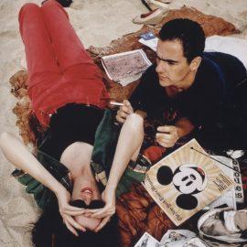 Nan Goldin-C.L. And Max On The Beach, Truro, MA 1976-2006