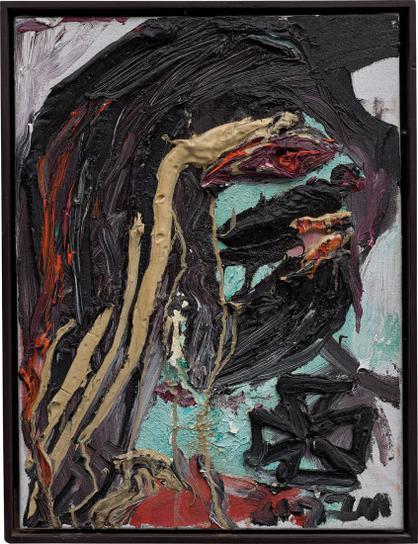 Jonathan Meese-Ich Mit Sausage-2002