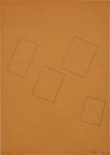 Sigmar Polke-Ohne Titel (Rechteck)-1963