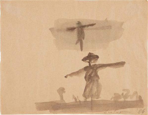 Luc Tuymans-Untitled-1986