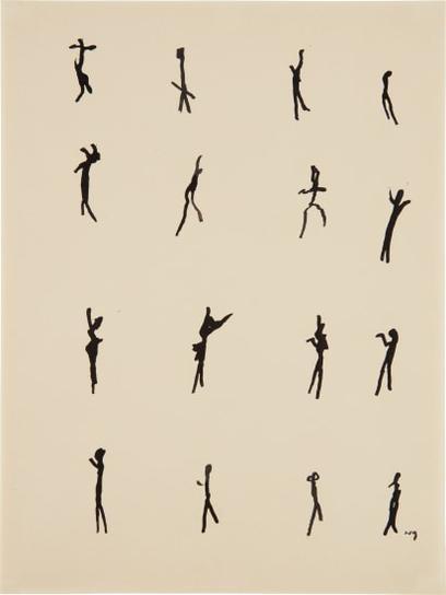 Henri Michaux-Mouvements-1951