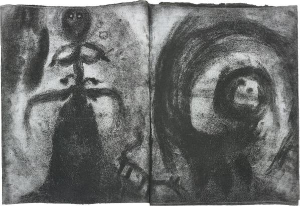 Miriam Cahn - Untitled-1986