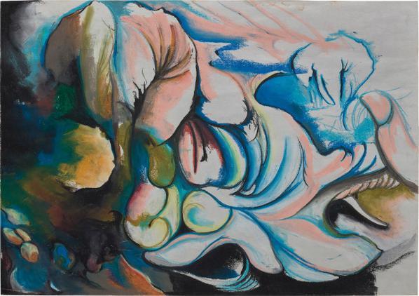 David Kim Whittaker-Elephant, Tree, Whale-1991