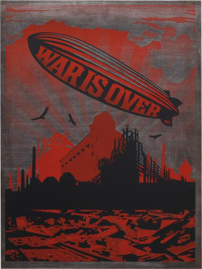 Shepard Fairey-War Is Over-2007