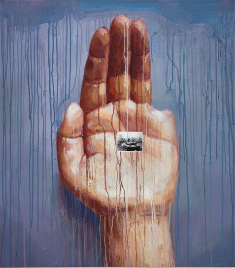 Sheng Qi-Untitled (My Left Hand Series)-2006