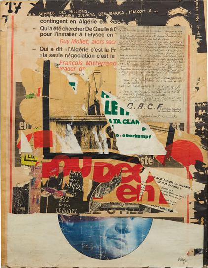 Jacques Villegle-Rue Du Dragon-1974