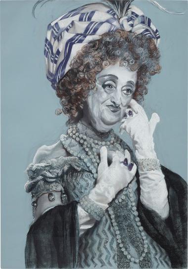 Rachel Feinstein-Eileen (Gloves)-2005