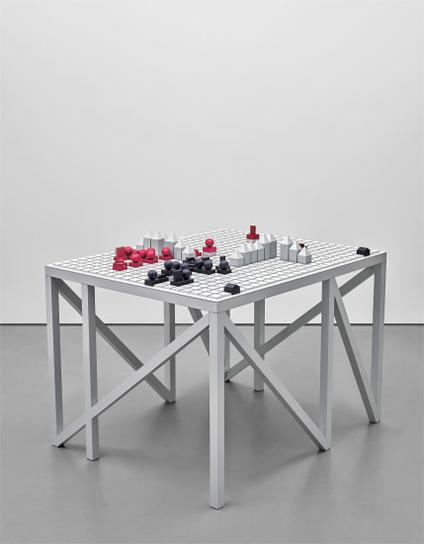 Liam Gillick-A Game Of War Structure 2011-2011