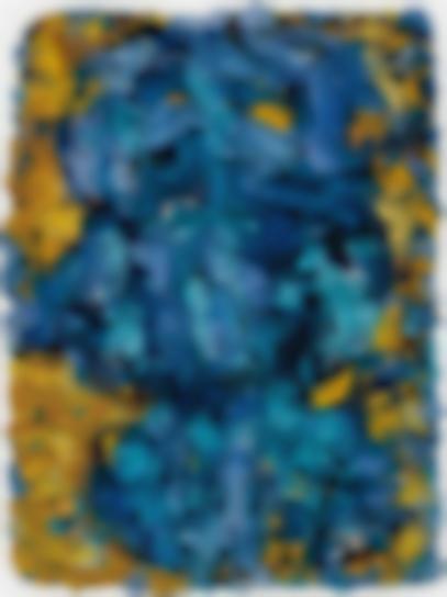 Bernd Schwarzer - Europa Bild (Gold - Blau)-