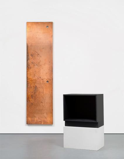 Walead Beshty-Copper Surrogate & Base For Copper Surrogate-2011