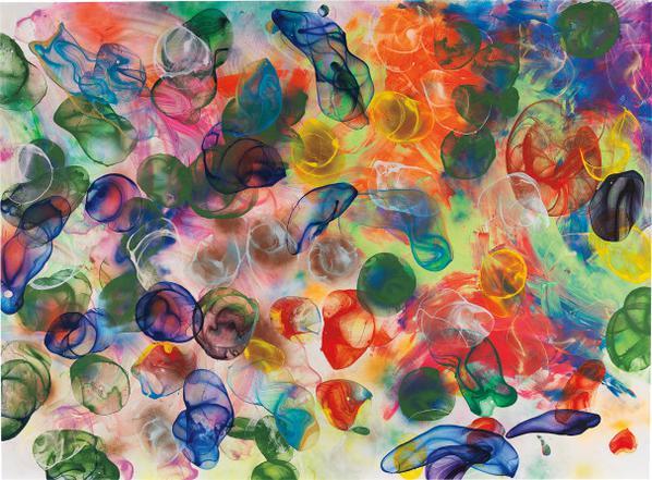 Jiri Georg Dokoupil-Bubbles-2008