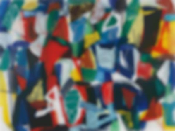 Jan Voss-Abstract Composition-1996