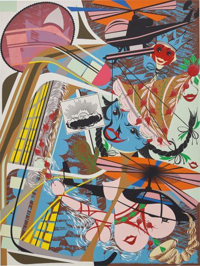 Lari Pittman-Like You, Expansive But Capable Of Pining Away-1995