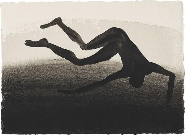 Antony Gormley-Fall-1995