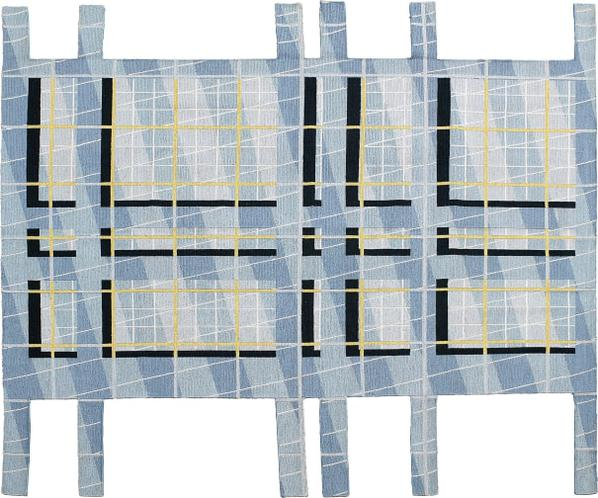 Peter Eisenman - Unique Rug-2017