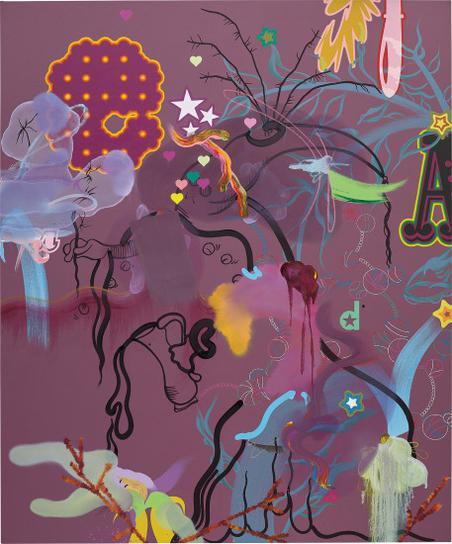 Fiona Rae-Tokyo Popeyes-2004