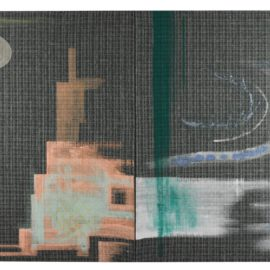 Sigmar Polke-Doppelbild (Skyscraper)-1996