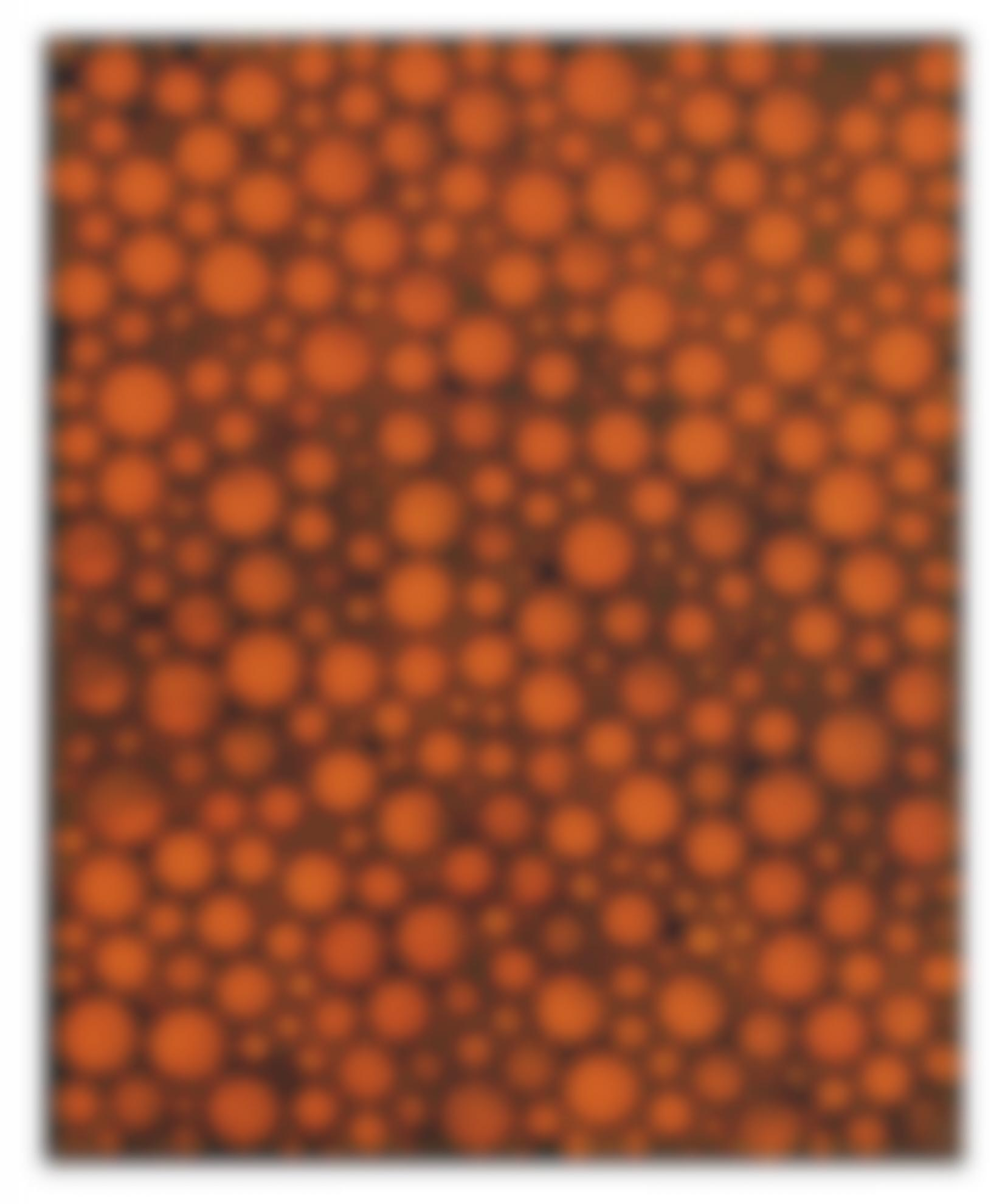 Yayoi Kusama-Kusama, Dots [Bbc], Acrylic On Canvas, 2001-2001