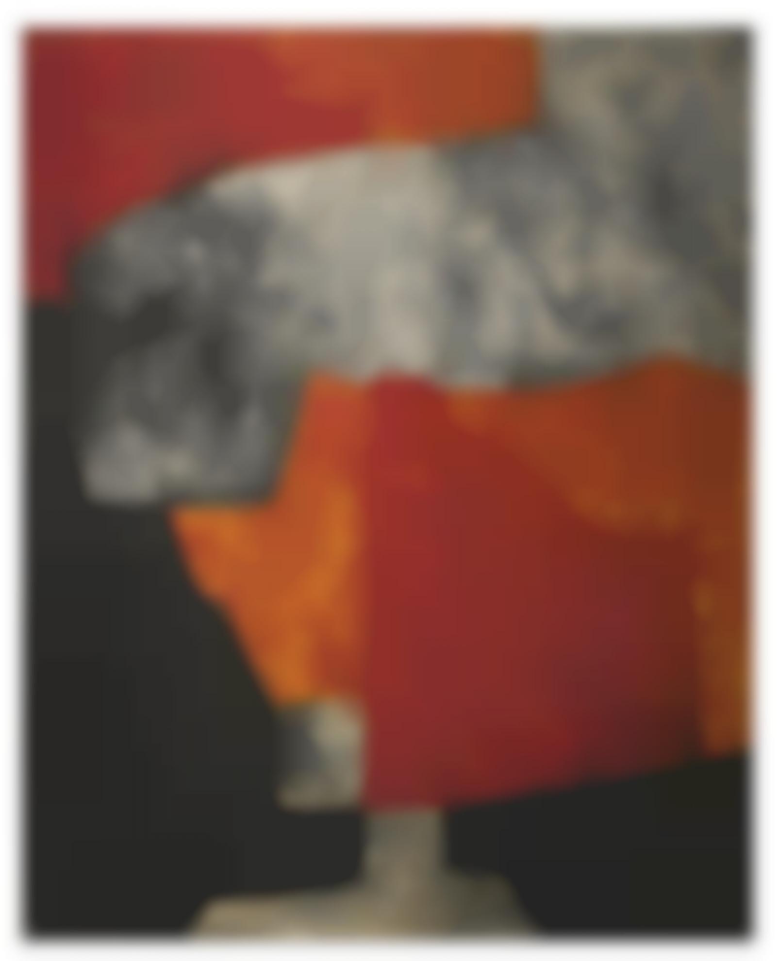 Serge Poliakoff-Orange Gris Et Noir-1964