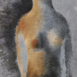 Jean Fautrier-Nu Debout A La Frange-1928