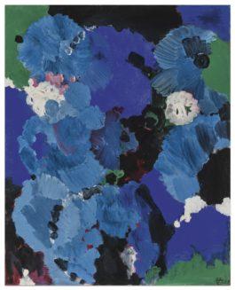 Ernst Wilhelm Nay-Bleu Royal-1958
