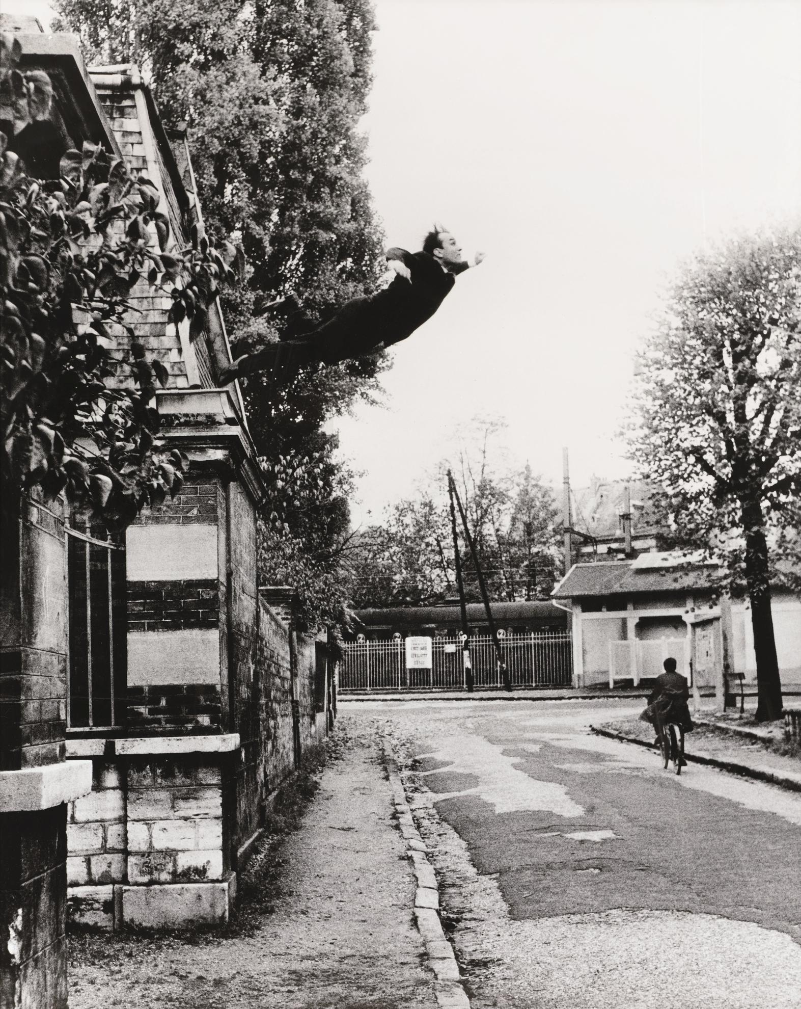 Yves Klein-Le Saut Dans Le Vide-