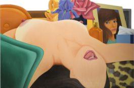 Tom Wesselmann-Long Delayed Nude-1975