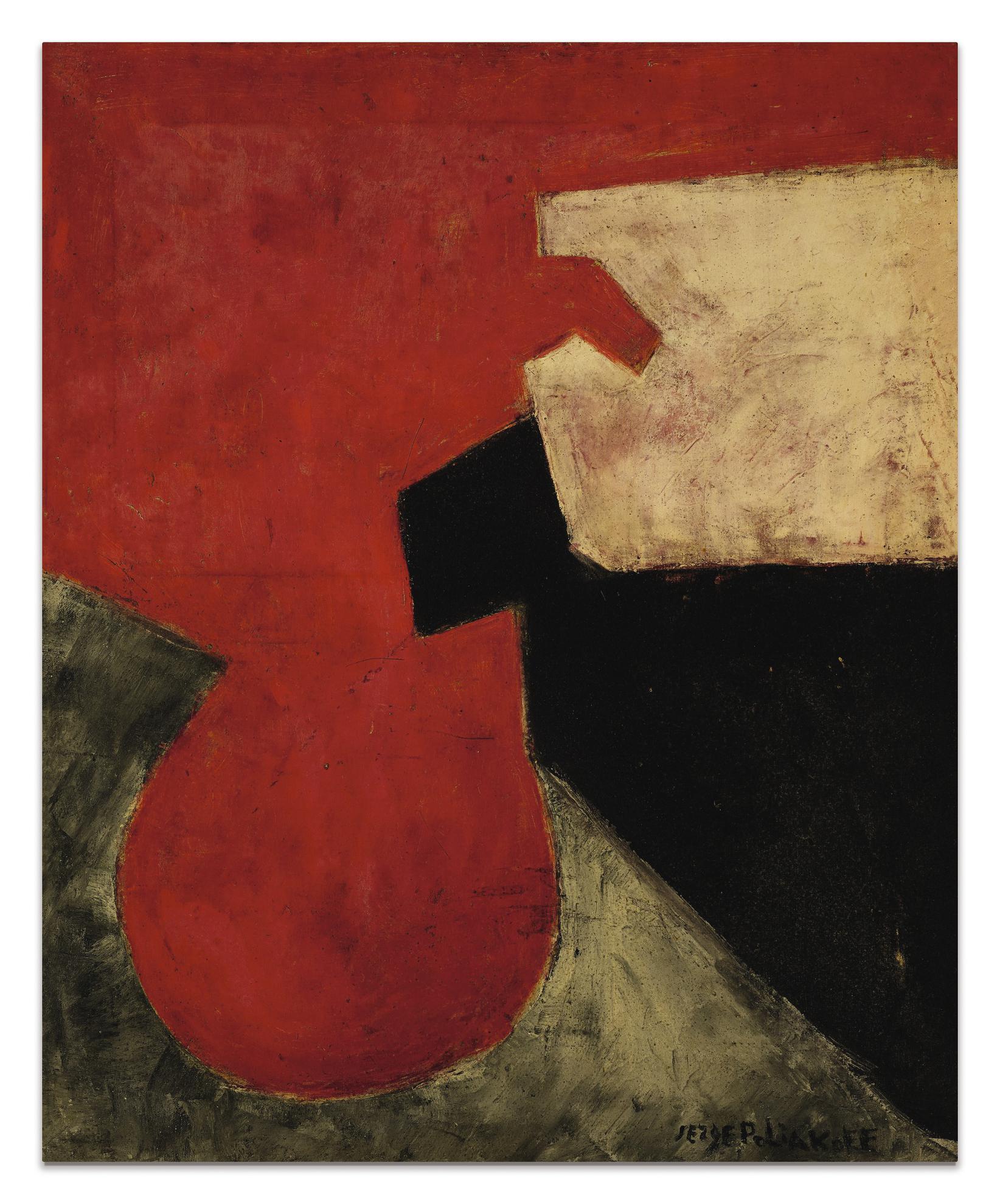 Serge Poliakoff-Composition Abstraite-1960