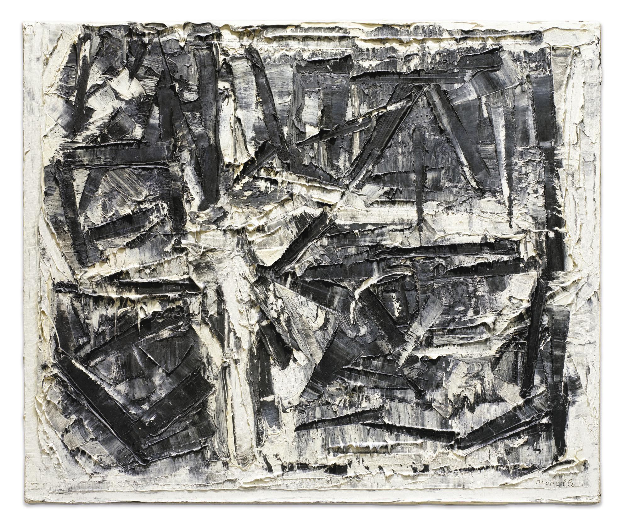Jean-Paul Riopelle-Composition-1977