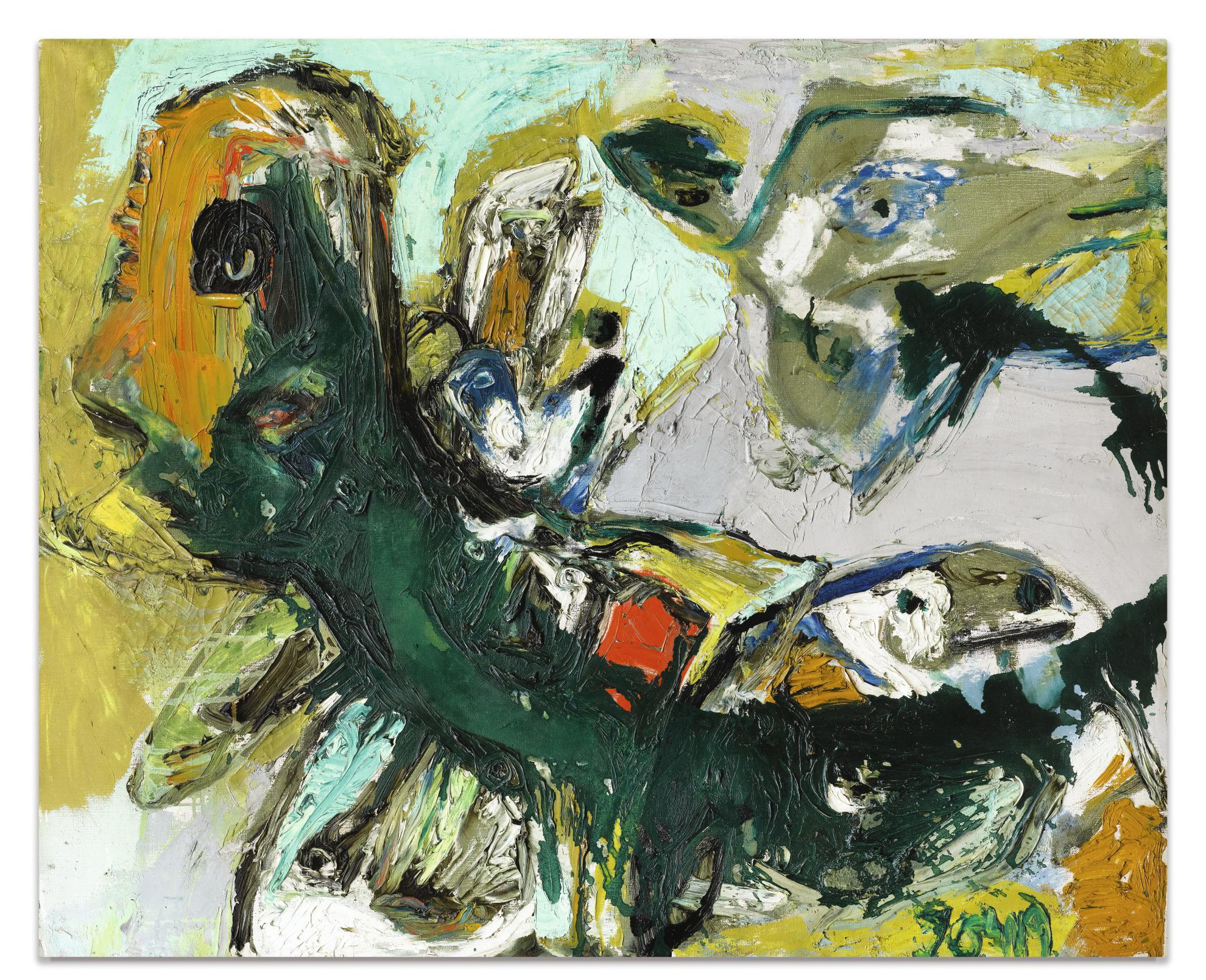 Asger Jorn-Loiseau Tetu 1-1957