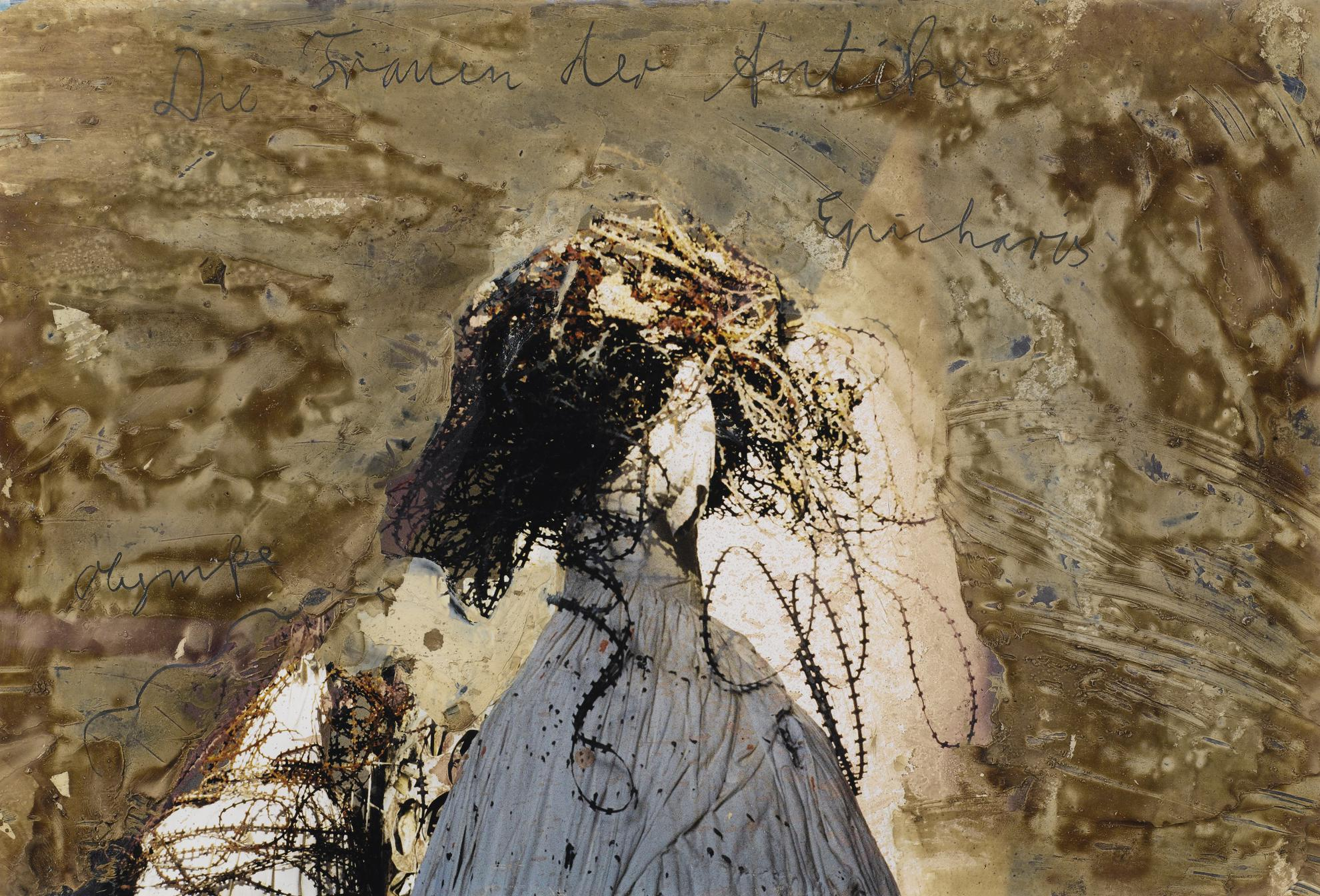 Anselm Kiefer-Frauen Der Antike - Epicharis Und Olympe-1999