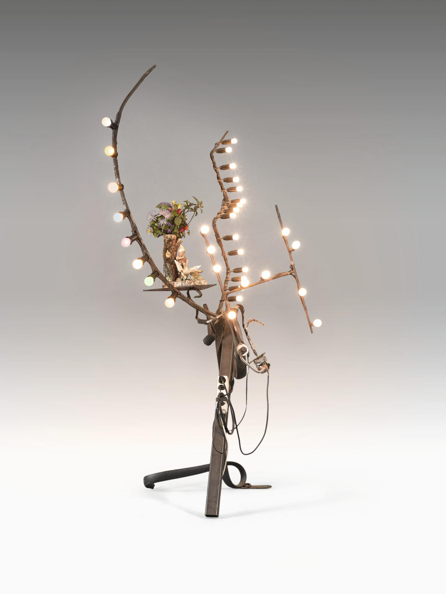 Jean Tinguely-Untitled (Lamp)-1989