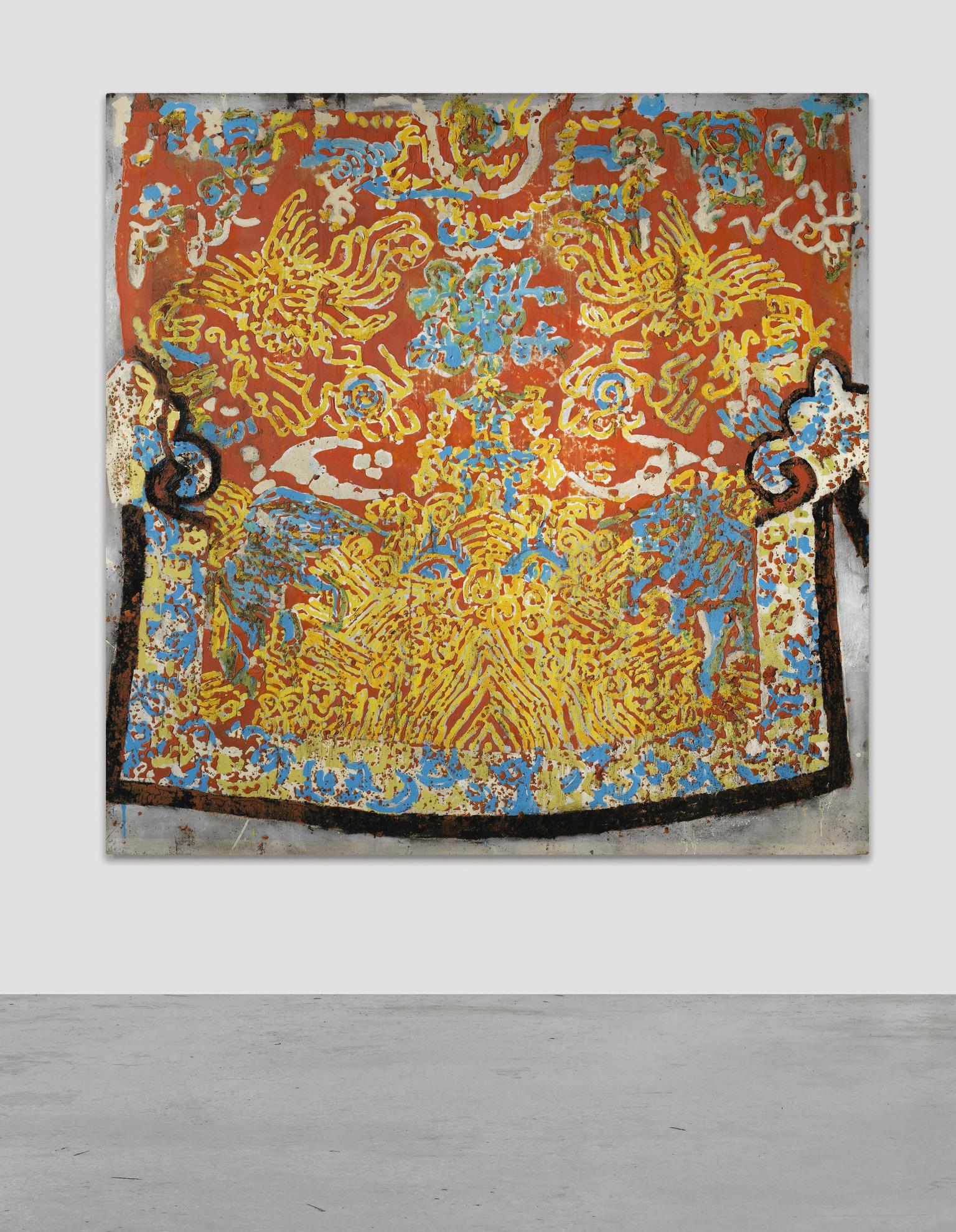 Jean-Pierre Pincemin-Untitled-2001