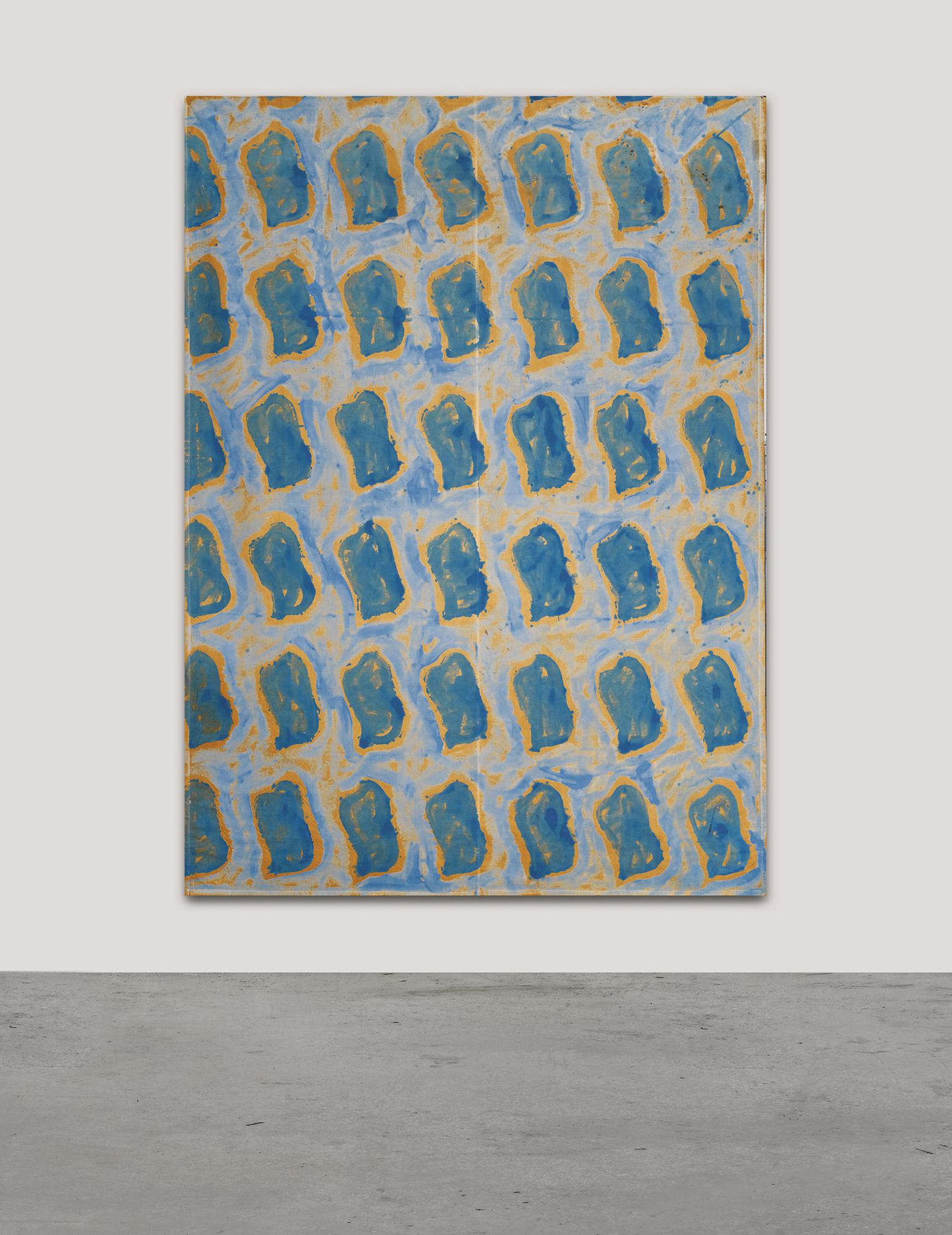 Claude Viallat-Untitled-1989