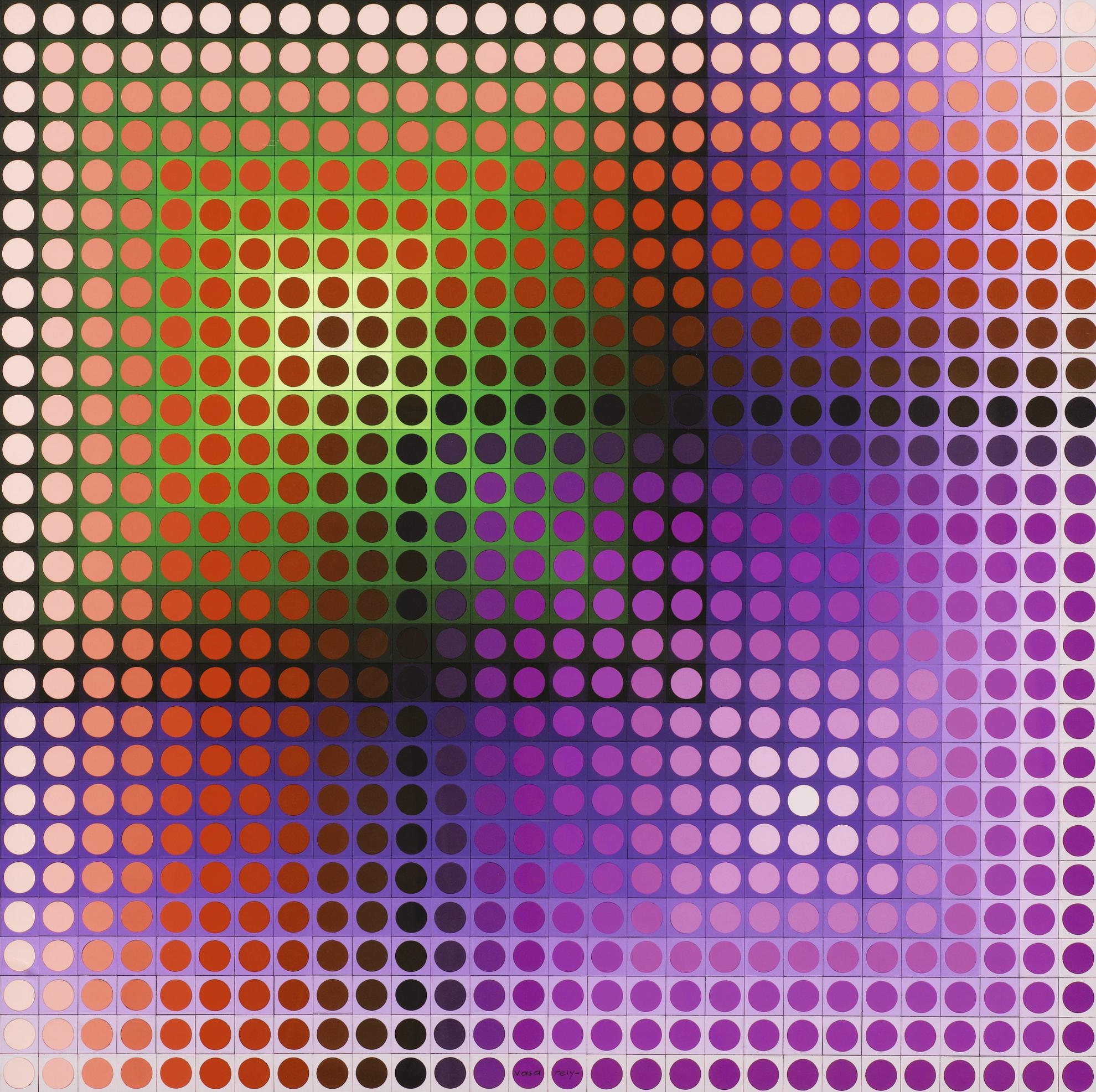 Victor Vasarely-Blitz-1972