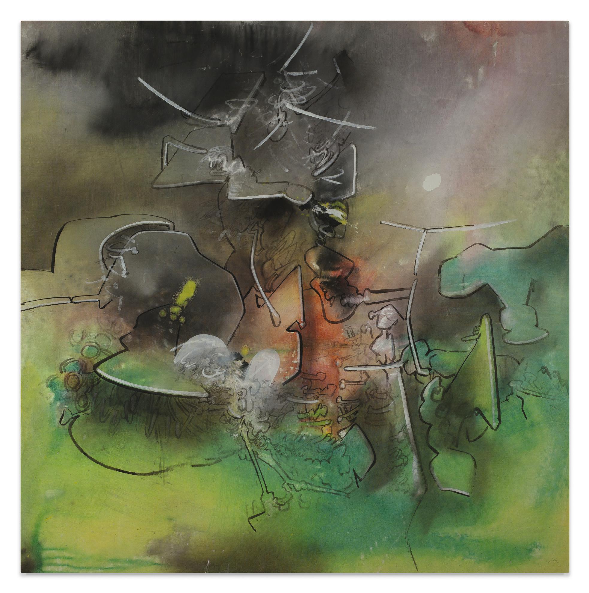 Roberto Matta-Image Invitation-1969