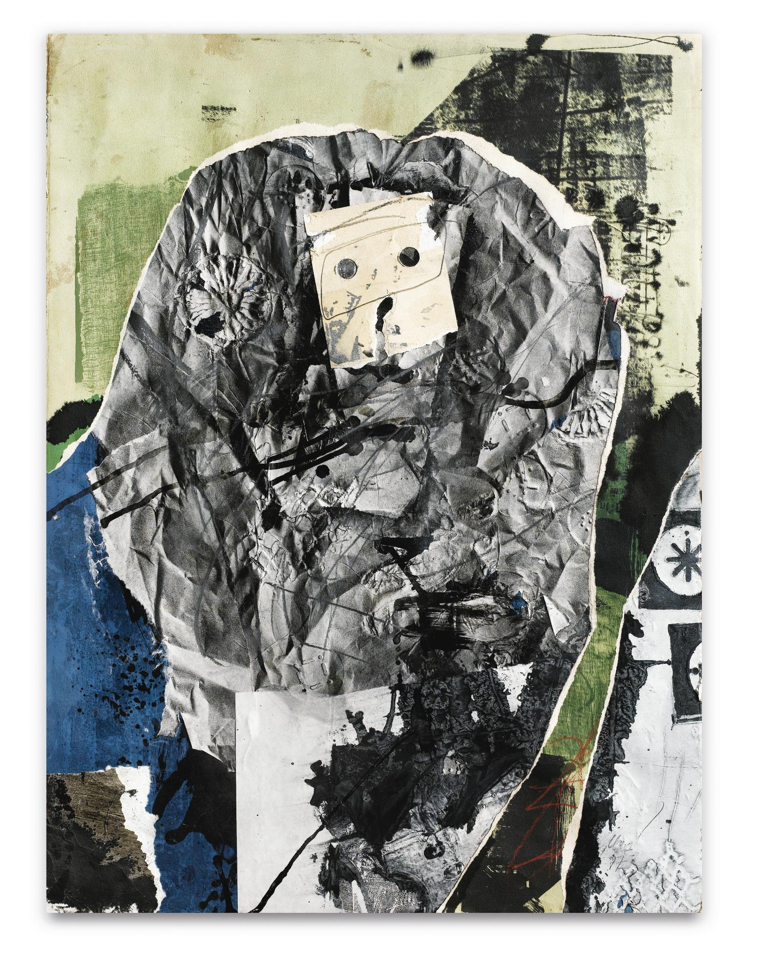 Antoni Clave-Guerrier Au Masque-1977