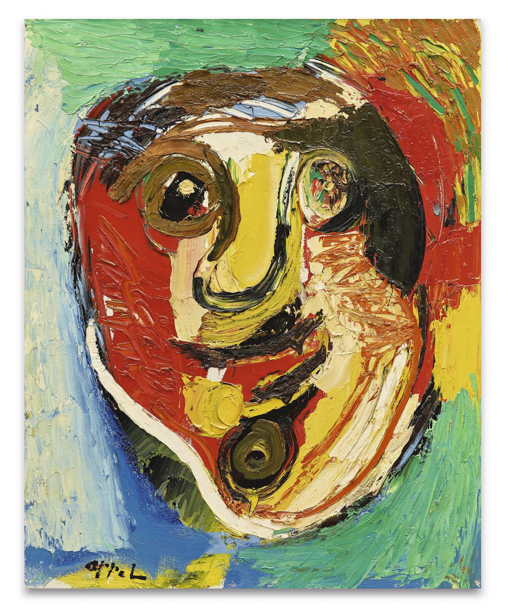 Karel Appel-Portrait-1966
