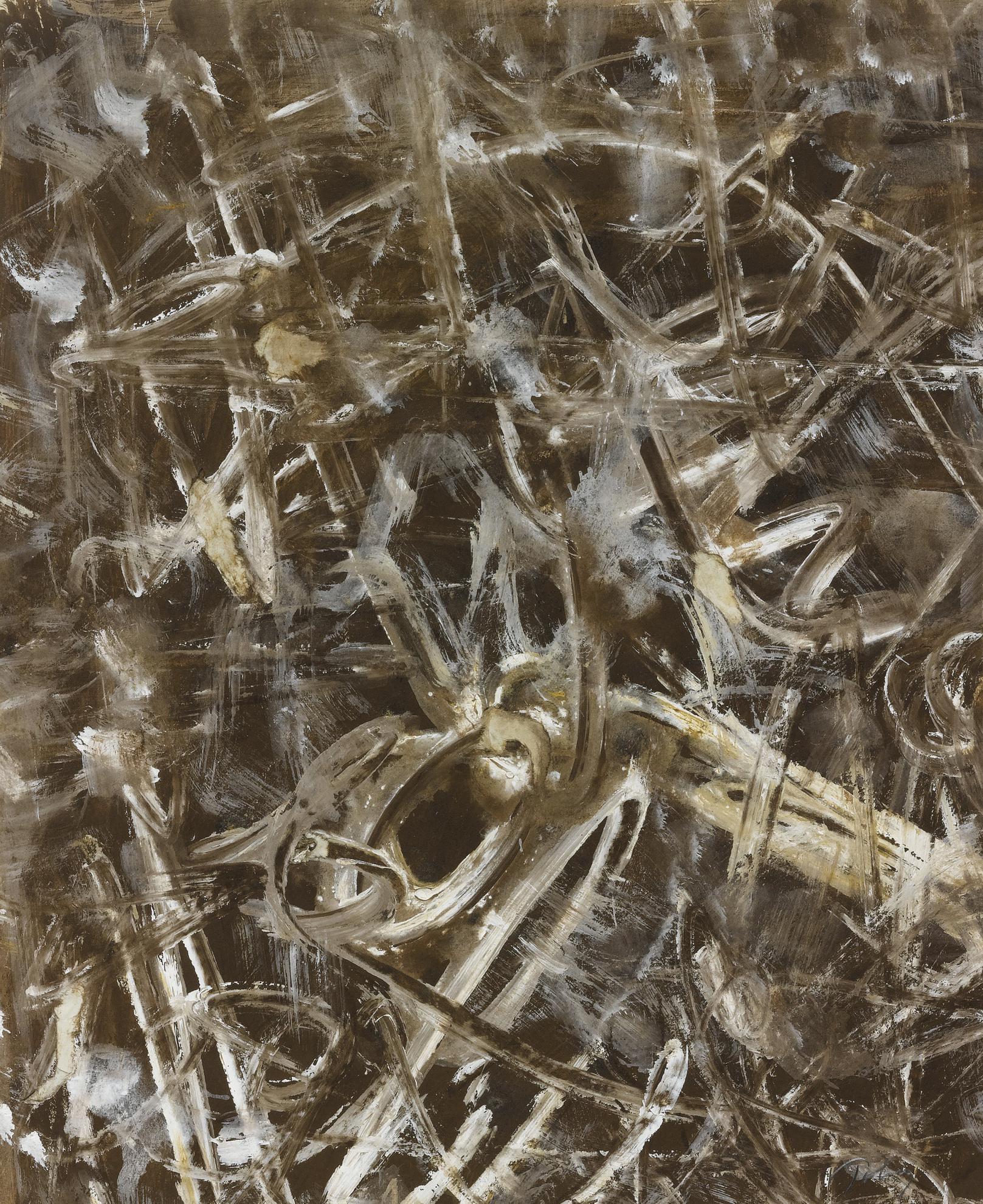 Mark Tobey-Untitled (Mirisma)-1957