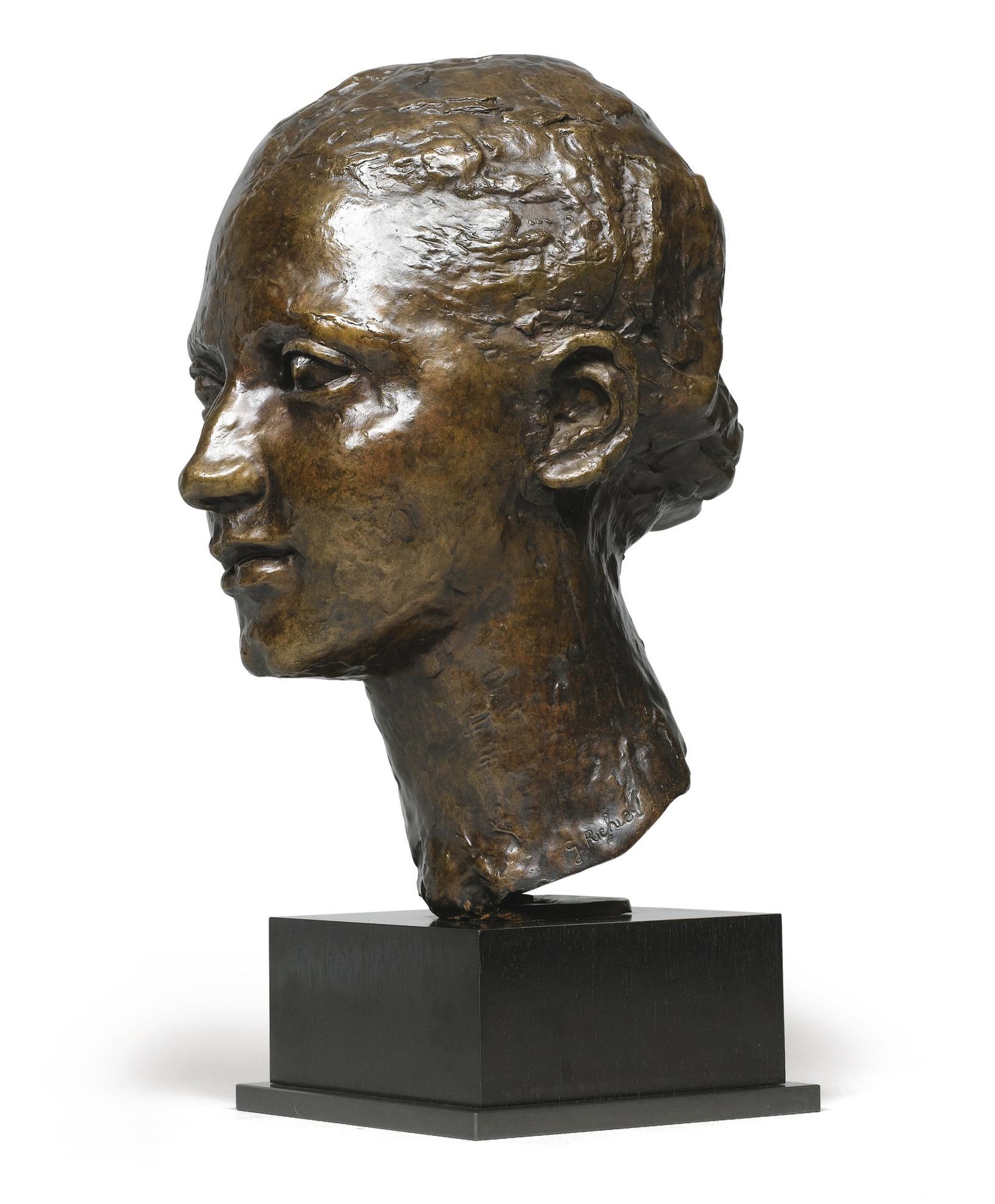 Germaine Richier-Buste De Jeune Fille-1934